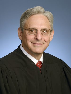 This photo provided by the U.S. Court of Appeals District of Columbia Circuit shows Chief Judge Merrick Garland in 2013, in Washington.