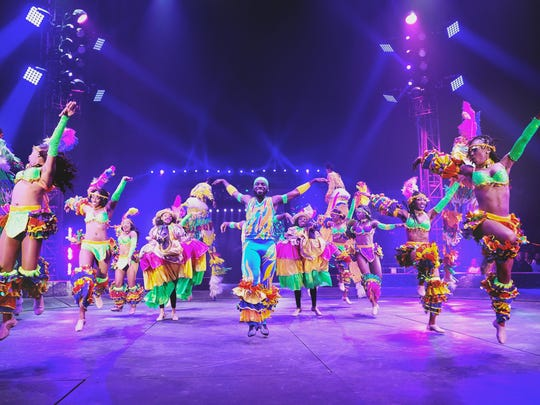 See Caribbean dancers, Fresh the Clowns, Xtreme Bikes and more thrilling performances at UniverSoul Circus through May 13.