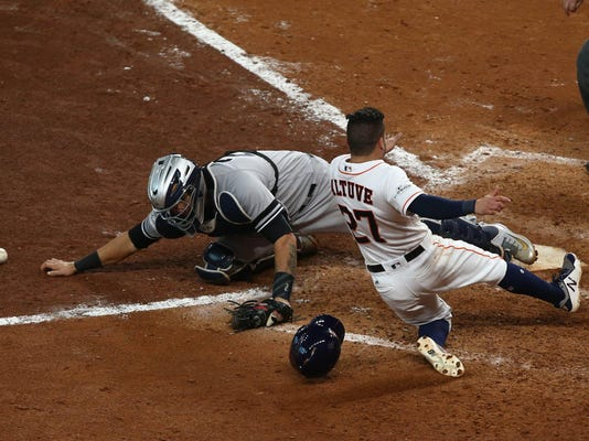 MLB ALCS New York Yankees at Houston Astros (2)