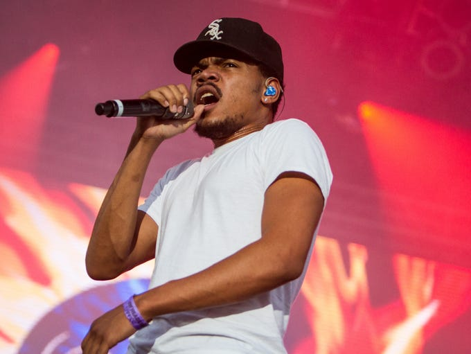 Chance the Rapper performs at Summer Ends Music Festival