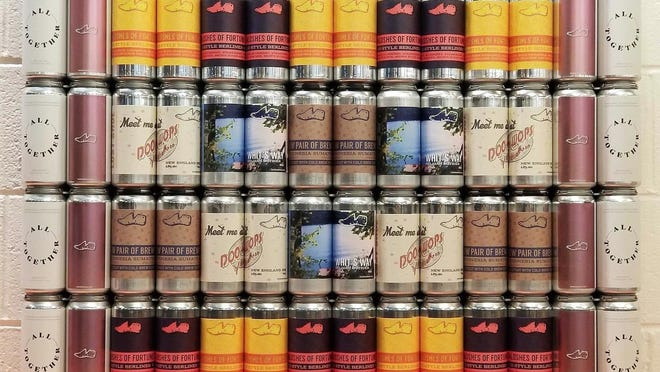 Lost Shoe Brewing & Roasting Co. in Marlborough was among the first breweries in Massachusetts to brew a version of All Together.