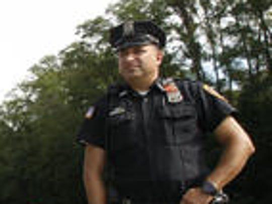 Peekskill Police Officer Chris Vazeos (file photo)