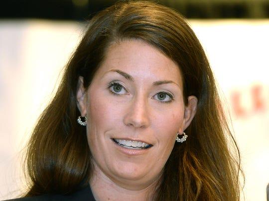 Democratic challenger Alison Lundergan Grimes