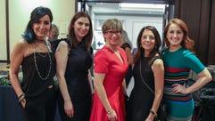 Sonia Minetti, Gina Heuck, Brooke Lawson; GM of Neiman