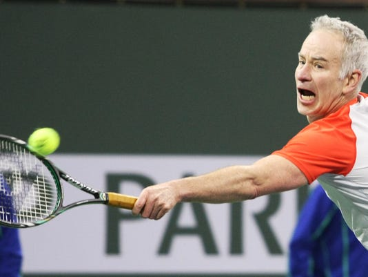 McEnroe Challenge for Charity Tennis
