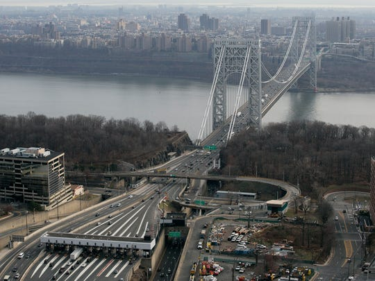 George Washington Bridge Aerial