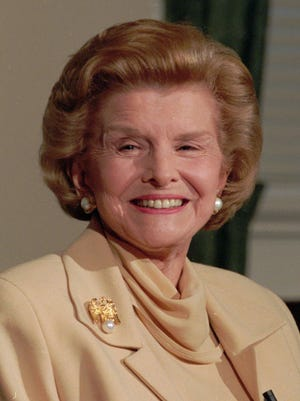 Betty Ford died in 2011.