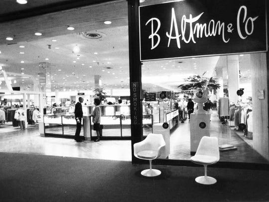 1967: B Altman's Store.