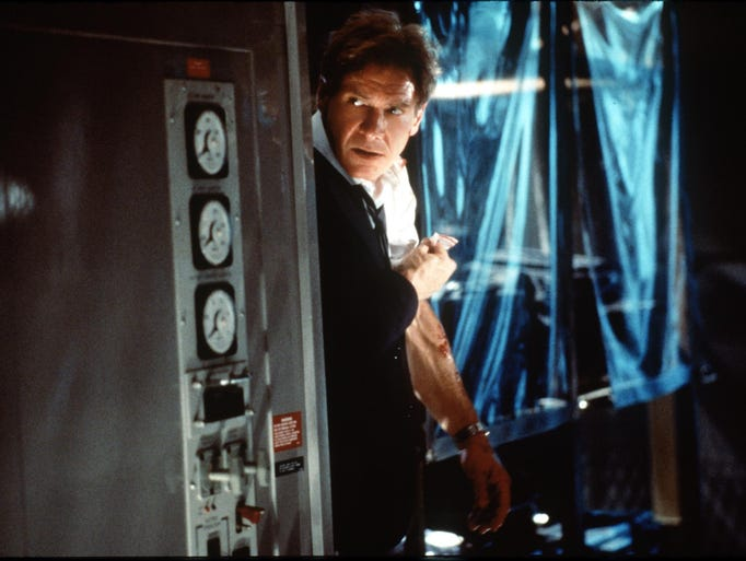 DATE TAKEN: 1997--- Harrison Ford in a scene from the