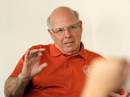 During Congressman Steve Pearce's visit he discussed issues on a local, national and international scale.