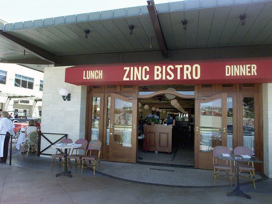 Zinc Bistro at Kierland Commons.