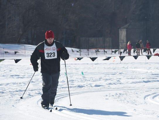 Jordan Schachtler of Clinton competes in a cross-country