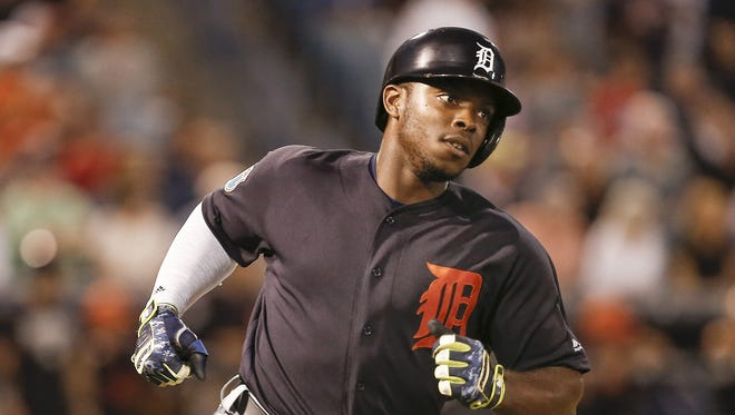 Tigers outfielder Justin Upton