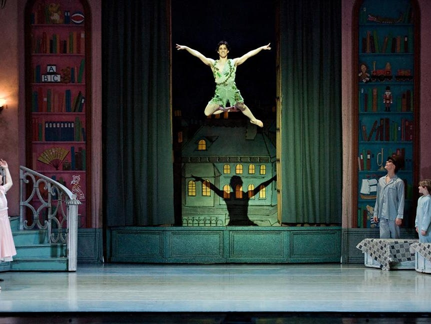 Enter to win tickets to Lafayette Ballet Theatre's Peter Pan! Enter 2/23-3/12.