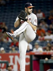 In his first 28 innings with the Houston Astros, former