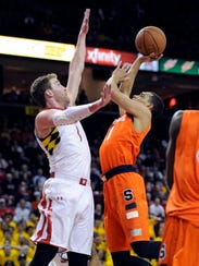 AP Syracuse Maryland Basketball