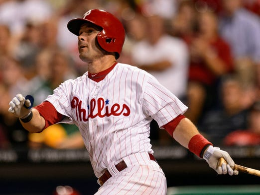 Aug. 31: The Phillies traded INF Michael Young to the Dodgers for minor league pitcher Rob Rasmussen.
