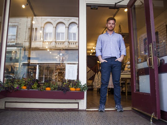 Mark Wilkinson, co-owner of Redwood & Co. in downtown