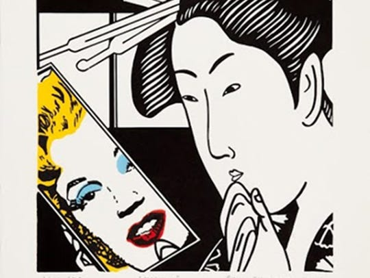 """Marilyn"" is one of the pieces in the Roger Shimomura:"