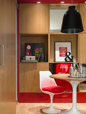At the new Virgin Hotel in Chicago, guest rooms are called chambers and feature whimsical furniture and design elements.