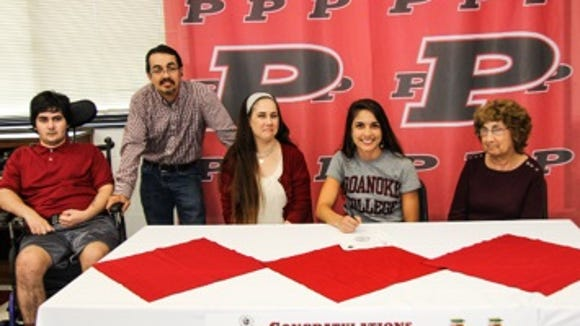 Pisgah senior Alexis Guerrero has signed with the Roanoke