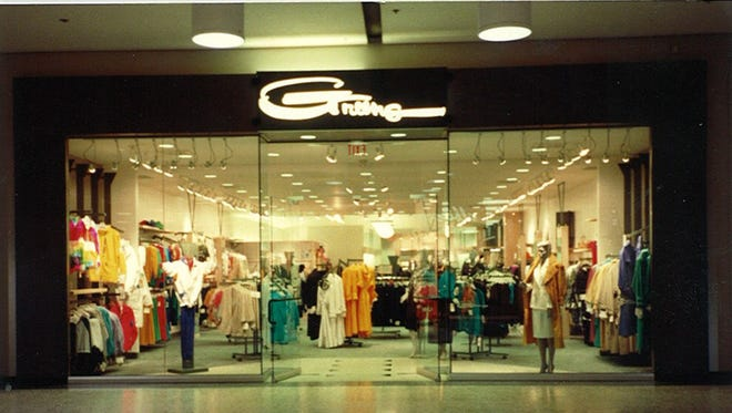The grand opening of the Meridian Mall Greens store.
