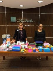 """4. CNLBank collected school supplies for Bonita Springs Elementary School during the months of July and August and will participate in Junior Achievement's """"JA in a Day"""" program during the 2015-2016 school year."""