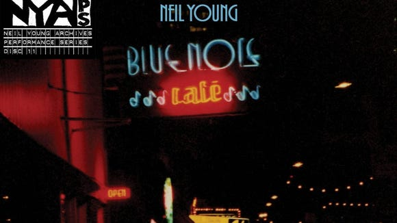 """Bluenote Café"" by Neil Young and Bluenote Café."