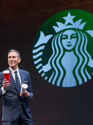 Former Starbucks CEO Howard Schultz.
