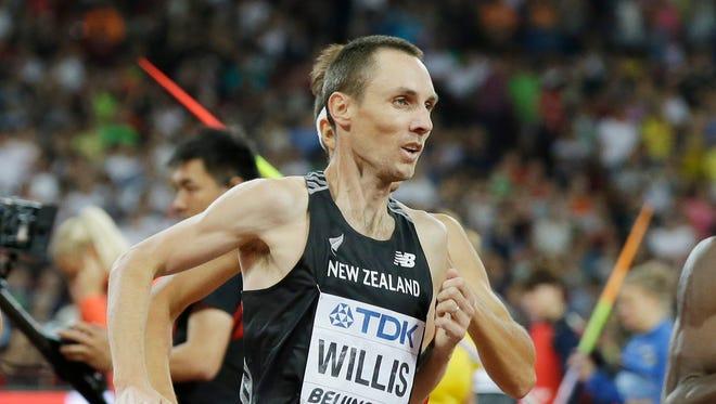 New Zealand's Nick Willis
