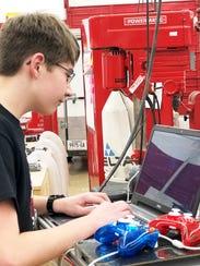 Gavin Pretorius takes a look at the robot's programming