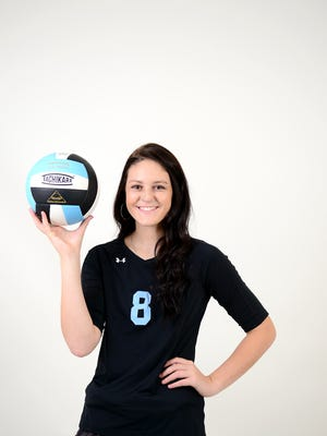 Abbie Trantham is a junior volleyball player at Enka.