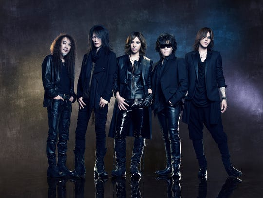 The current incarnation of X Japan in Drafthouse Films'