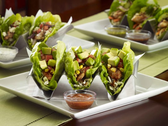 The lettuce wrap tacos from Cheesecake Factory.