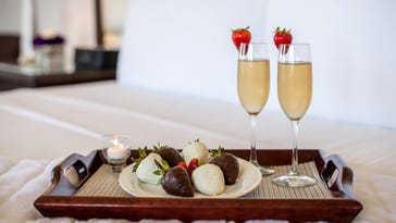 Valentine's Day is about love and chocolate and romantic dinners. Be sure to make your reservations early before the perfect seating time is full