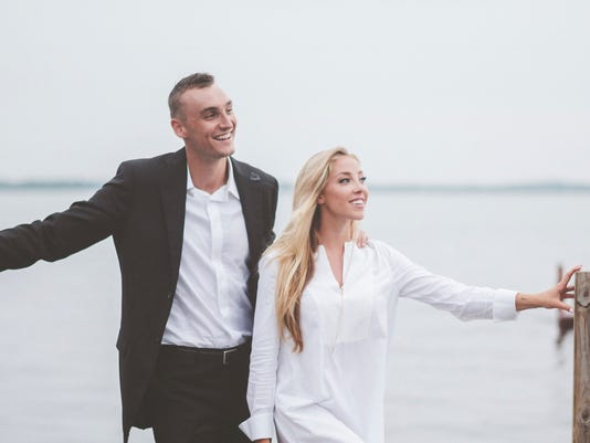 Olivia Harlan and Sam Dekker