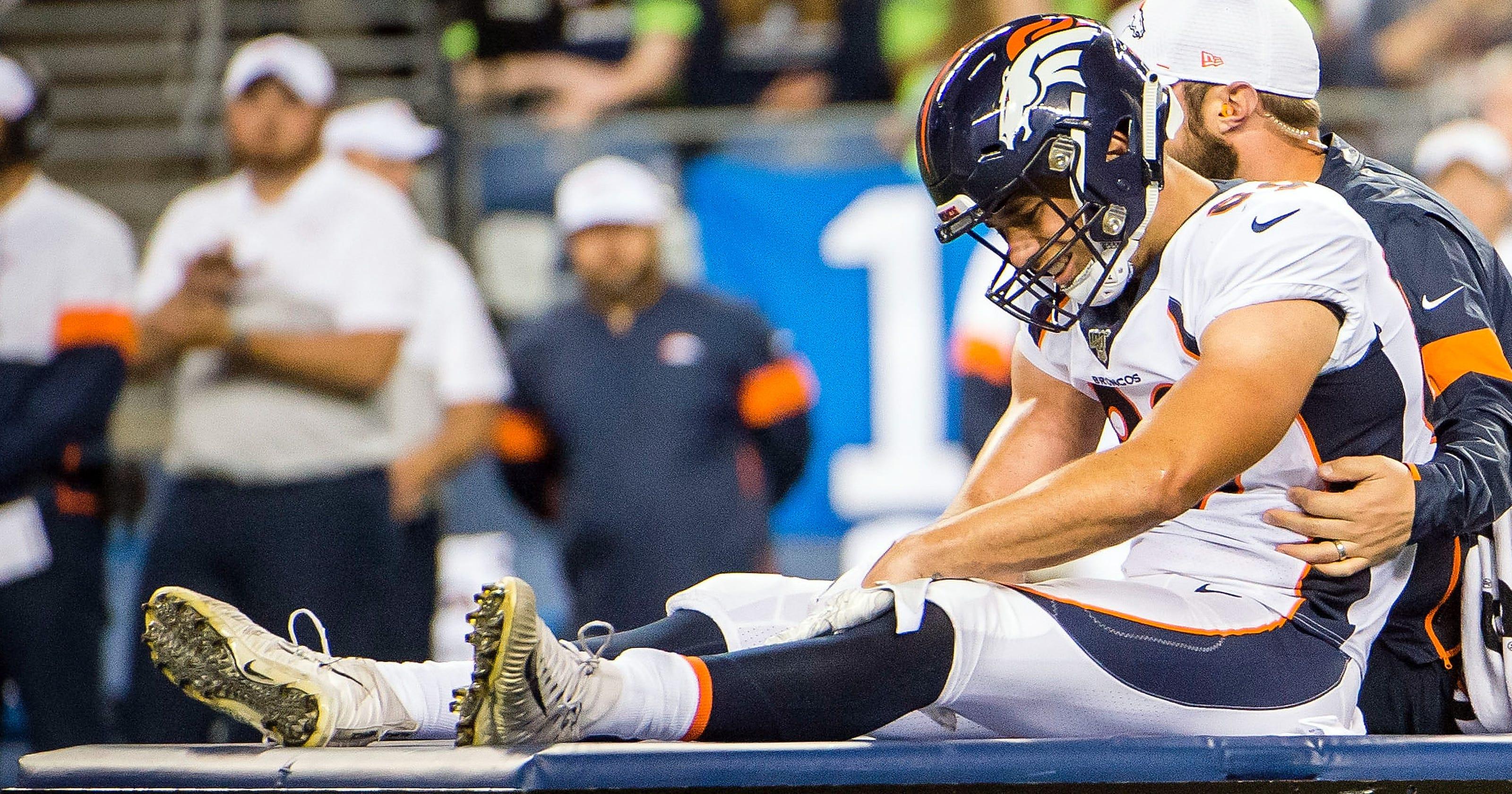 b7ddb3c9 Denver Broncos lose TE Austin Fort to season-ending ACL injury