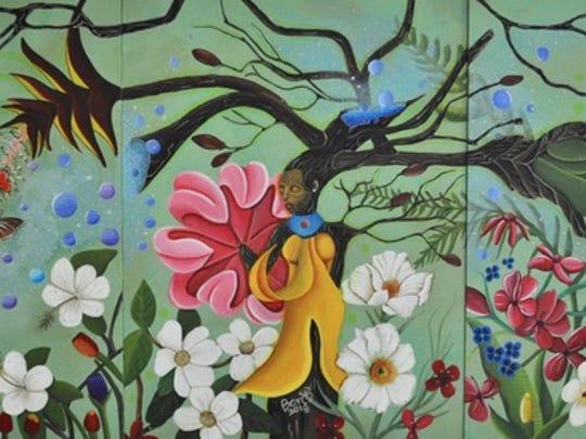 """""""Magical Garden,"""" by Hector Rodriquez."""