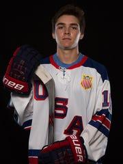 USA Hockey NTDP U18 forward Clayton Keller
