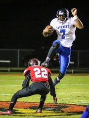 La Vergne at Ravenwood, 6A state playoffs, Friday, Nov. 3, 2017.