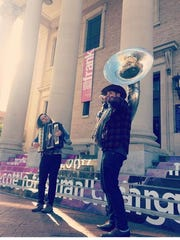Gainesville duo Passersby performs at 7 p.m. Tuesday