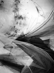 Lauren Semivan often layers information into her compositions,