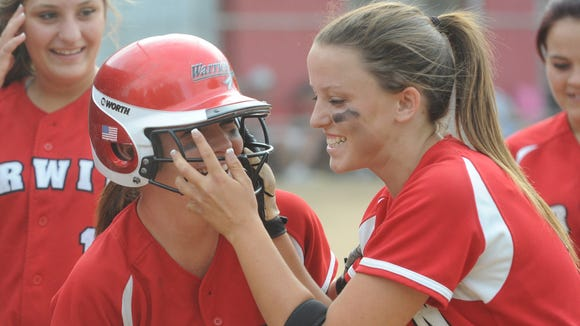 Erwin's Natalie Case (3) is the Mountain Athletic Conference Softball Player of the Year.