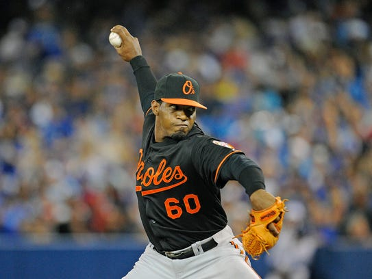 Mychal Givens could be the future closer.