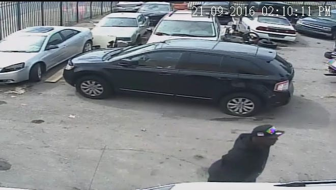 The Detroit Police Department is seeking this man in connection with a fatal shooting on Wednesday, Sept. 21, of a man working at an auto body shop on the east side.