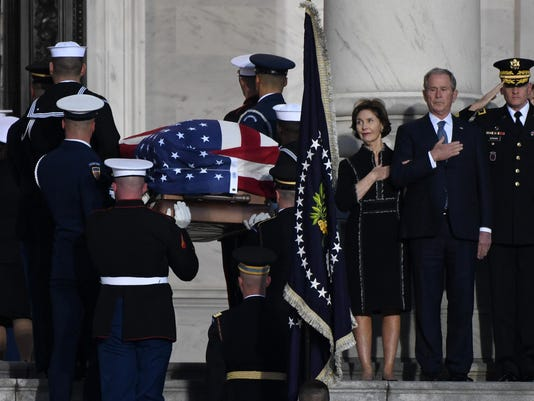 State Funeral of President George H.W Bush at the U.S. Capitol - DC