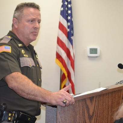 At a public hearing Dec. 19, Mason County Sheriff Casey