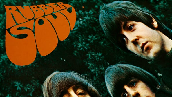 """""""Rubber Soul"""" was the sixth album by The Beatles."""