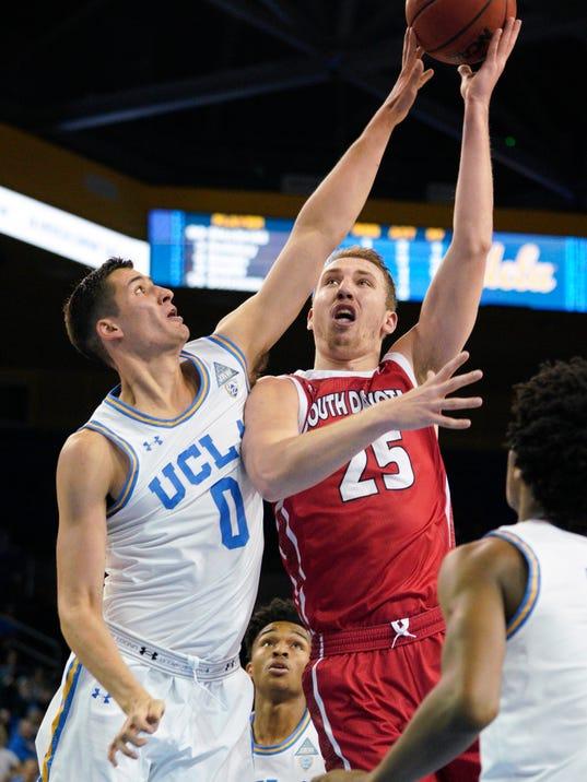 NCAA Basketball: South Dakota at UCLA