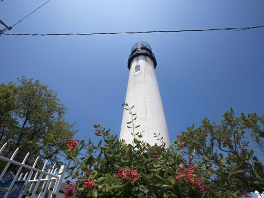 The Fenwick Island lighthouse.